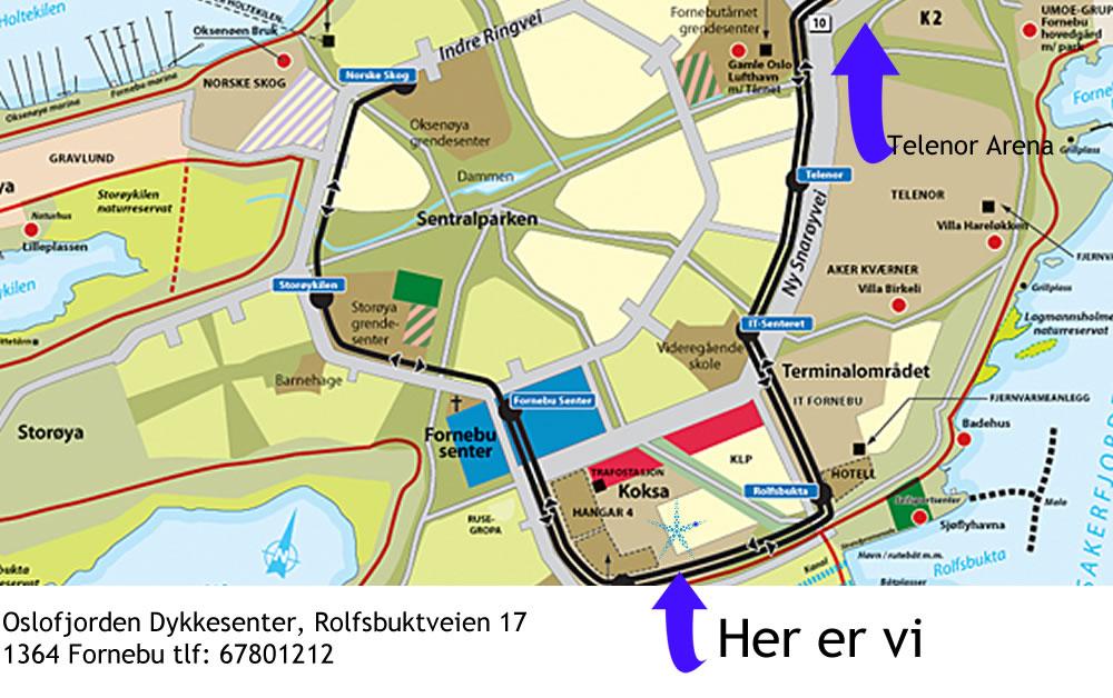 Kart_fornebu