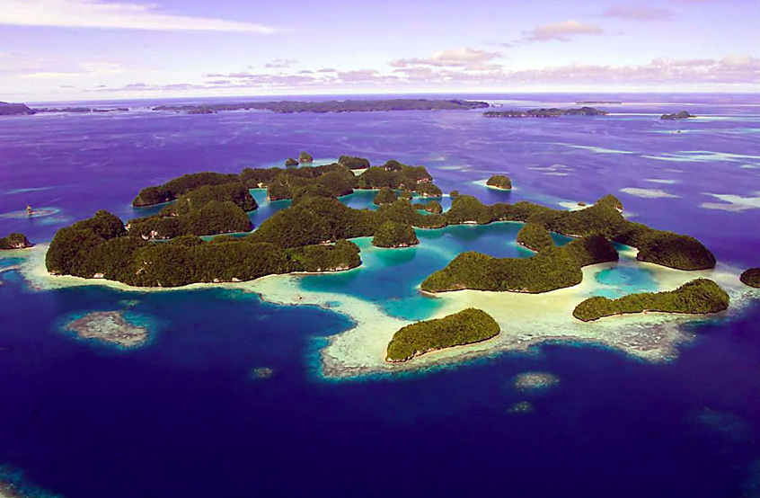 things to see in palau
