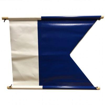 Dykkeflagg PVC 60x70 cm
