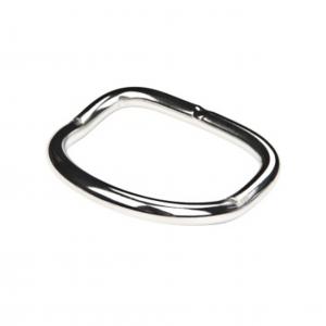 D-Ring, Bøyd 50mmx5mm