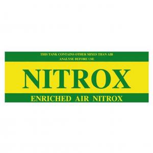 Klistremerke, Nitrox 65x15cm