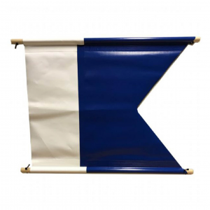 Dykkeflagg PVC 100x120cm
