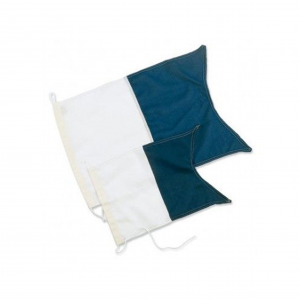 Dykkeflagg ALFA 40x30 cm