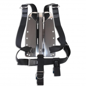 DIRZONE Backplate SS 3 mm with standard harness and hardware