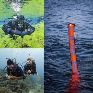 PADI Specialty pakke: Peak Performance Buoyancy,Underwater Navigator & Delayed Surface Marker