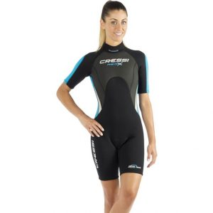 MED X 2,5mm Shorty wetsuit, Lady