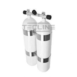 Flaskesett 2x20 232 m/ståbunner