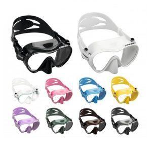 F1 Maske til dykking