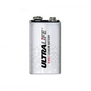 JJ-CCR, Lithium 9v batteri