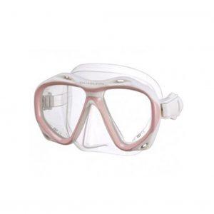 Chamelon Snorklemaske, Hvit/Rosa