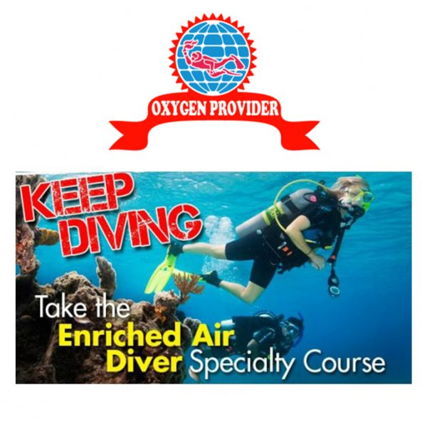 PADI Enriched Air Specialty & Padi Emergency Oxygen Provider